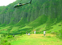 Oahu Helicopter flight