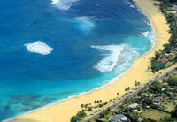 Sunset Beach Oahu Helicopter tour